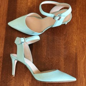 LOUISE ET CIE |  Blue aqua ankle strap Stiletto
